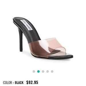 Steve Madden feisty black heel